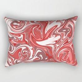 Strawberry Sundae Cream Rectangular Pillow