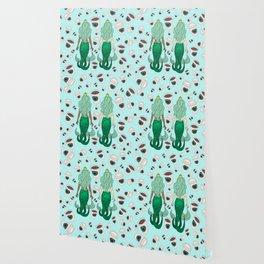 Star Butts Coffee Mermaids Wallpaper