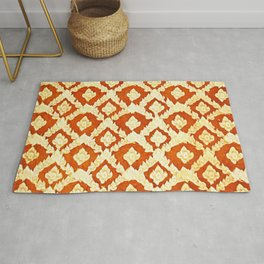 Asian Ornamental Pattern Rug