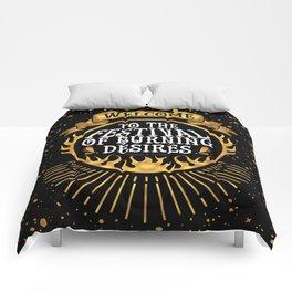 Daughter of the Burning City - Amanda Foody - Black Comforters