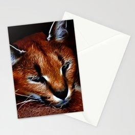 Karakul wildcat Stationery Cards