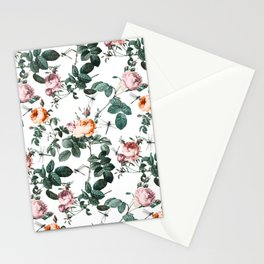 Floral and Winged Darter Stationery Cards