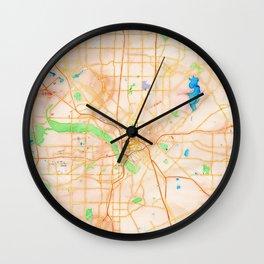 Dallas, Texas Wall Clock