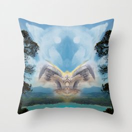 Support from Above Throw Pillow