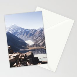 Aoraki Summits Stationery Cards