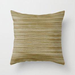 Antique Driftwood Whitewash Deck Beach Hut Cladding Throw Pillow