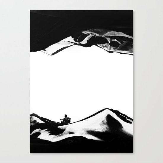 Song of isolation Canvas Print