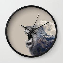 Mountain Lion  Wall Clock