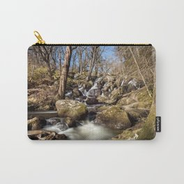 Becky Falls in Spring Carry-All Pouch