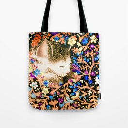 A Sleeping Cat Tote Bag