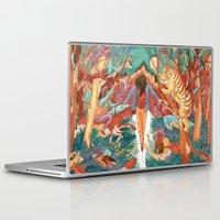 balance Laptop & iPad Skins featuring Balance by Mary Slumber