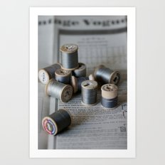 Grey Notions Art Print