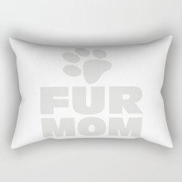 Fur Mom Rectangular Pillow