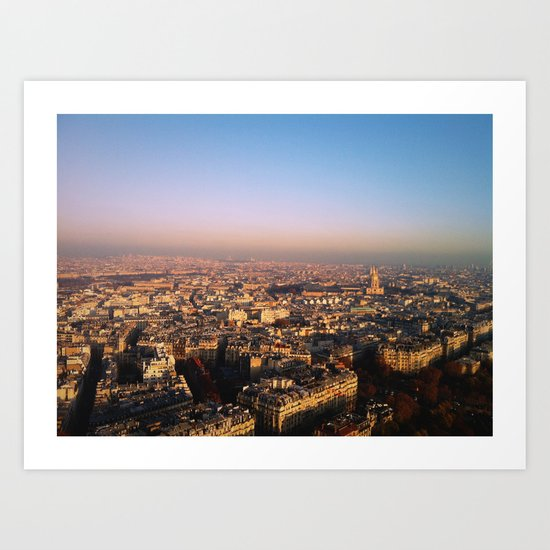 Paris, Mon Amour. Art Print