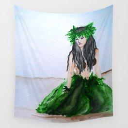 hula girl Wall Tapestry