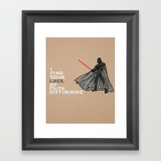 Luke's Father Framed Art Print