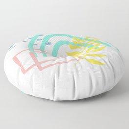 Sun Baked Mint Summer Collection 1 of 3 Floor Pillow