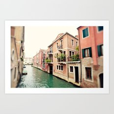Hello Venezia Art Print