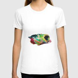 Colorsfull sheep skull T-shirt