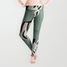 Zebra, African Wildlife Leggings