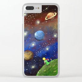 Little Prince Dream Clear iPhone Case