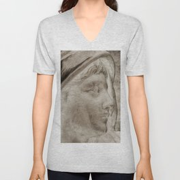 Lady Angel Celestial Woman Spiritual Art A145 Unisex V-Neck