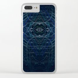 Electric Eye Clear iPhone Case