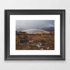 Rainbones Framed Art Print