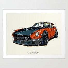 ozizo art 0024 Art Print