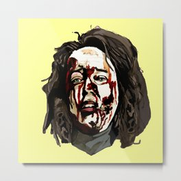 Bloody Annie Wilkes - Misery (Yellow) Metal Print