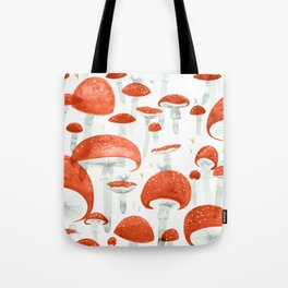 Mycelium Fruiting Bodies by Friztin © 2017 Tote Bag