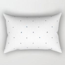 Ninja Pattern Rectangular Pillow
