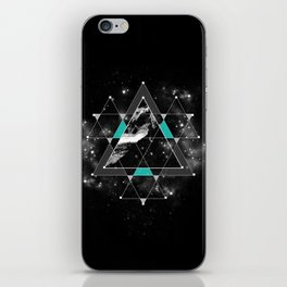 Time & Space iPhone Skin