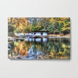 Fall at Quarry Rock Falls #3 Metal Print