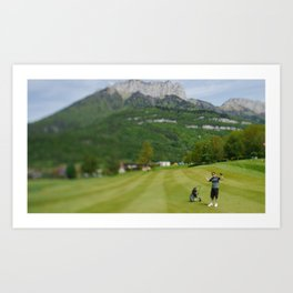 Mathias Golf  Art Print