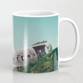 plane crash in the sky-Sólheimasandur Plane Crash Coffee Mug