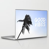 palm tree Laptop & iPad Skins featuring Palm by MBZ Photo