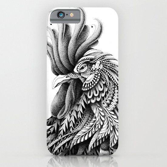 Ornately Decorated Rooster iPhone & iPod Case