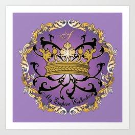 My Empire Collection Summer Set Purple Crown Art Print