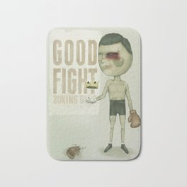 GO THE DISTANCE Bath Mat