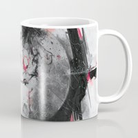 mars Mugs featuring Mars by Alexis Marcou