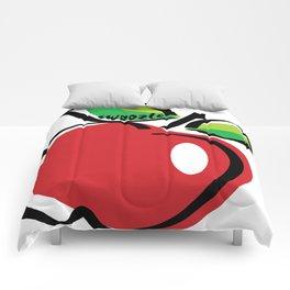 Apple Swoozle Comforters