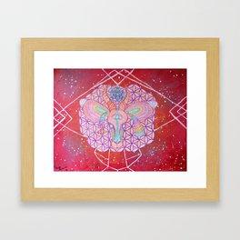 Interstellar Impala Framed Art Print