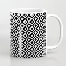 Asymmetry collection: black and white geometry Coffee Mug