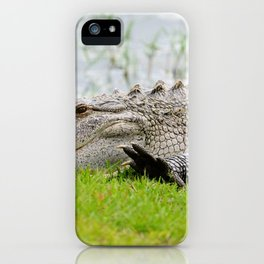 Gator High Five iPhone Case