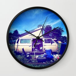 Gone Phishin' Wall Clock