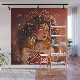 Zodiac Signs: Leo Wall Mural