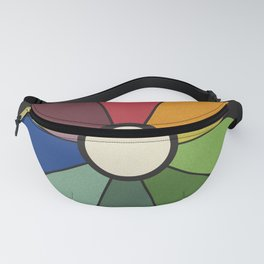 James Ward's Chromatic Circle Fanny Pack