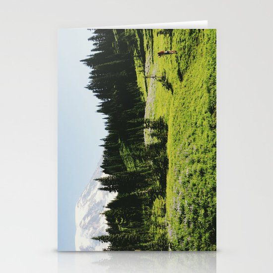 Mt Rainier Shooter Stationery Cards