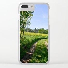 cultural landscape 10 Clear iPhone Case